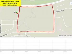Merrill Ranch Run Route